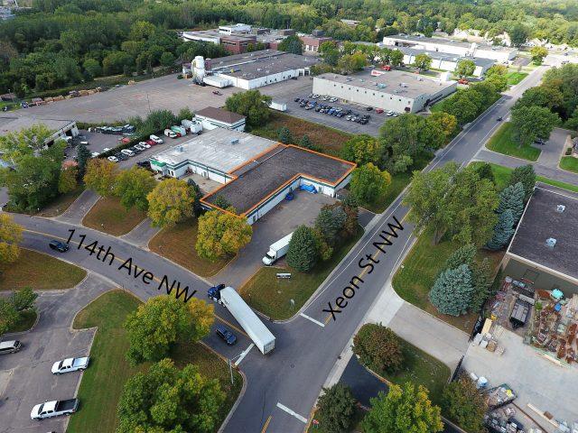 Coon Rapids – 1281 114 Avenue NW Industrial Bldg