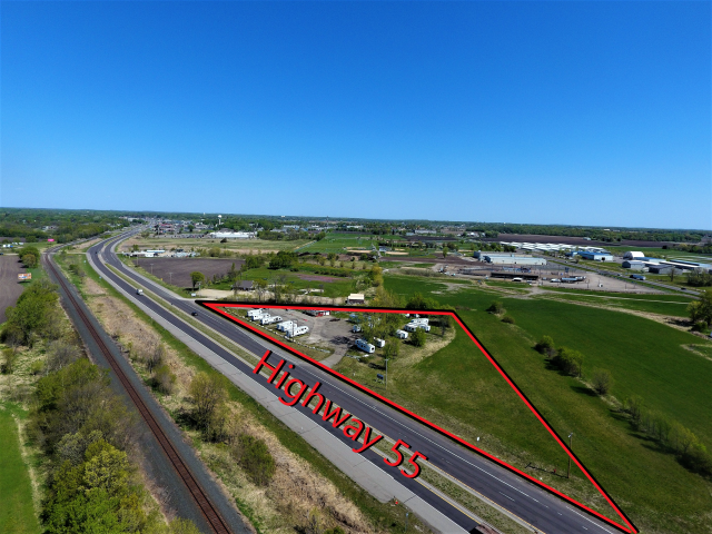 Buffalo -1790 Highway 55 Commercial Land