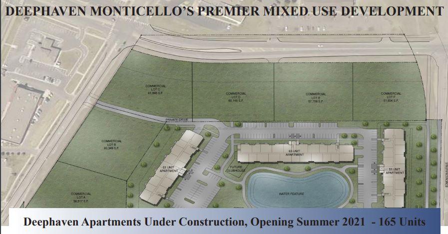 Monticello – Chelsea Road Commercial Land 8.0 Acre