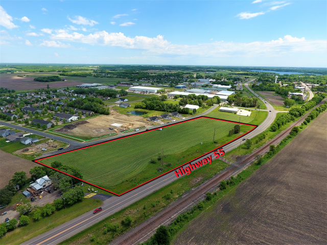 Maple Lake – Highway 55 Commercial Land