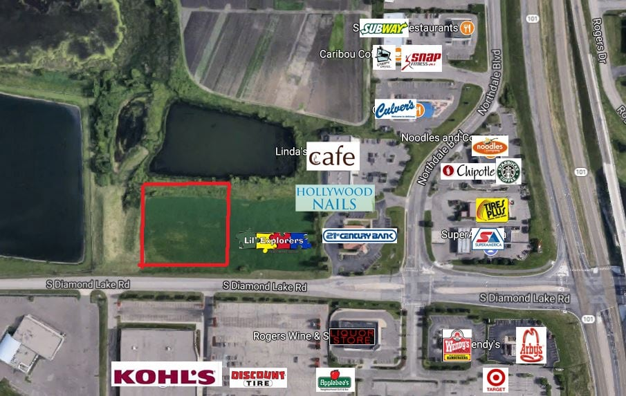Rogers – Diamond Lake Rd 2.46 Acre