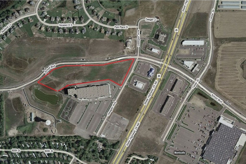 Monticello – School Blvd West Jefferson Commons Land 7.2 Acre