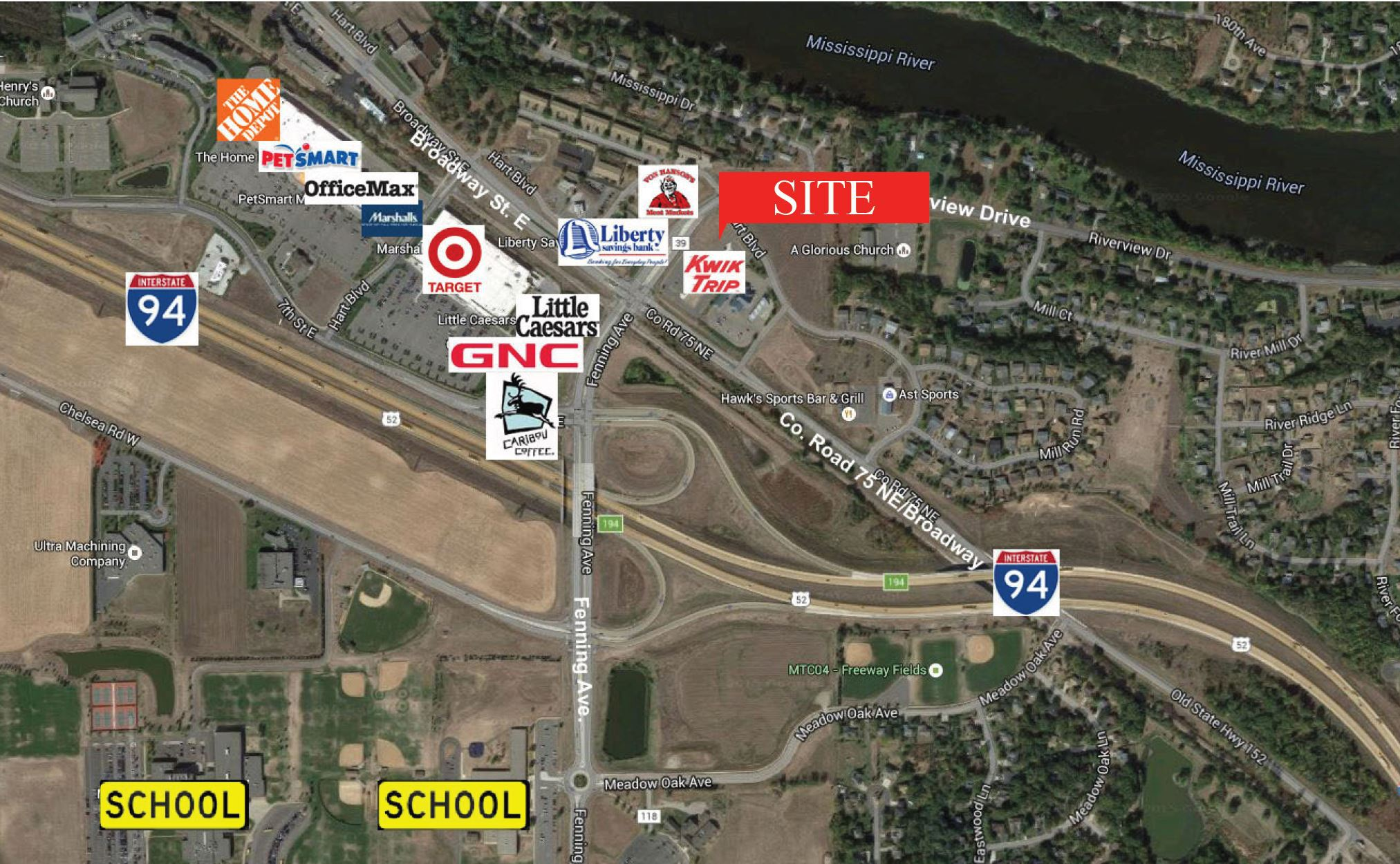 Monticello – 9851 Hart Blvd Commercial Land