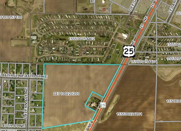 Monticello – Highway 25 44.26 Acres