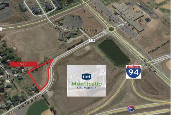 Monticello – Meadow Oak Commercial Land