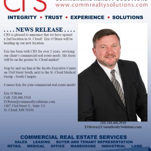 CRS News Release!