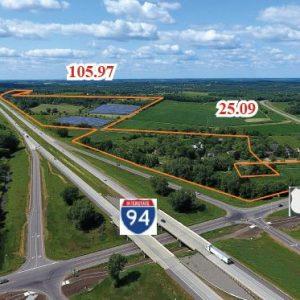 St. Joseph – 11126 Leaf Road 151.46 Acres Commercial/Industrial Land