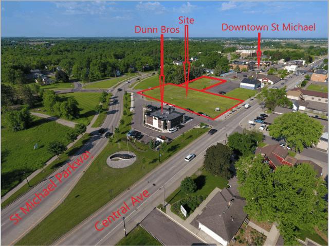 St. Michael – 113 Central Avenue  1.5 Acres Commercial Land