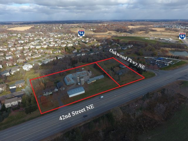 St. Michael – 13920 42nd Street 6.04 Acres Commercial Land