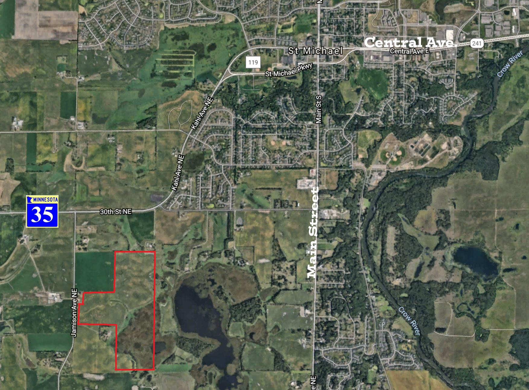 St. Michael – Jamison Avenue NE  146 Acres