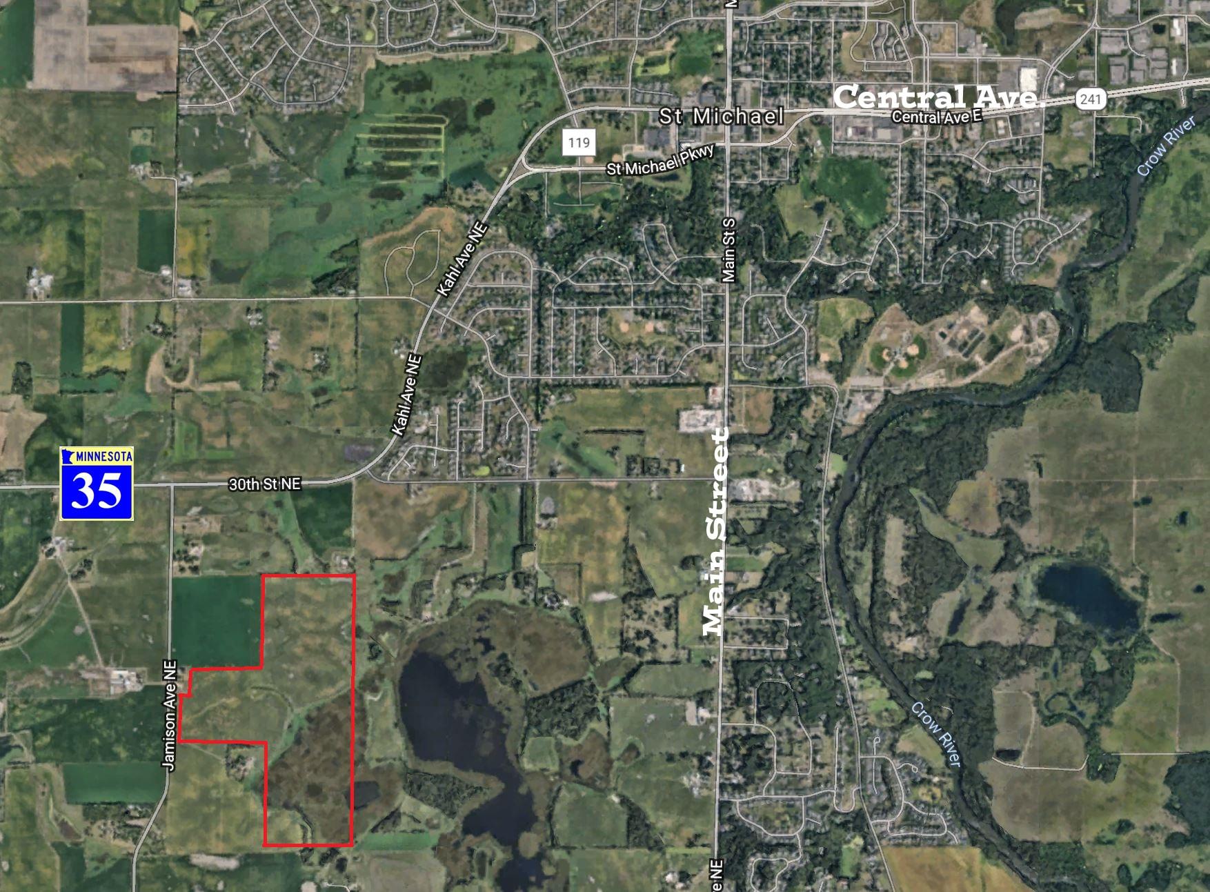 St. Michael – Jamison Avenue NE  146 Acres